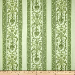 Garden Palette Fancy Stripe Green