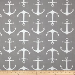 Premier Prints Indoor/Outdoor Sailor Grey Fabric