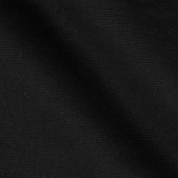 Kaufman Outback Canvas Black Fabric