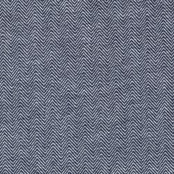 Kaufman Chambray Union Medium Herringbone Indigo Fabric