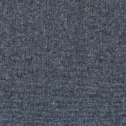 Kaufman Chambray 4.5 Oz Washed Indigo Fabric