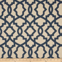 Premier Prints Sheffield Blend Laken Indigo Fabric