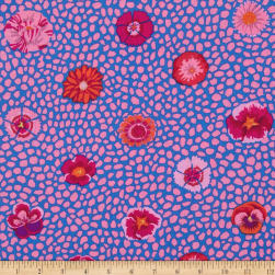 Kaffe Fasset Collective Guinea Flower Pink Fabric