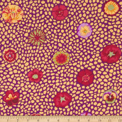 Kaffe Fassett Collective Guinea Flower Yellow Fabric