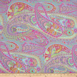 Kaffe Fasset Collective Paisley Jungle Grey Fabric