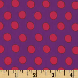 Kaffe Fasset Collective Spot Purple Fabric