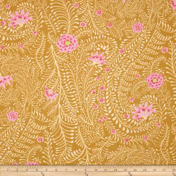 Kaffe Fassett Collective Ferns Yellow Fabric