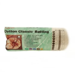 "Fairfield Organic Cotton Classic Batting Twin 72"" X 90"""