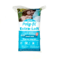 "Fairfield Poly-Fil Extra-Loft Batting Craft  36"" X 45"""