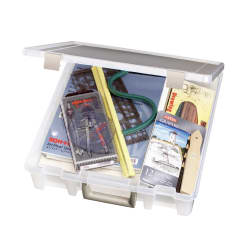 "ArtBin Super Satchel Single Compartment-15.25"" x 14"" x 3.5""  Clear"