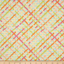 Kaffe Fassett Collective Mad Plaid Pastel Fabric