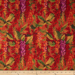 Kaffe Fassett Collective Fox Gloves Hot
