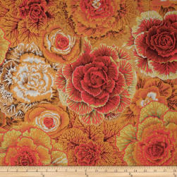 Kaffe Fassett Collective Brassica Brown Fabric