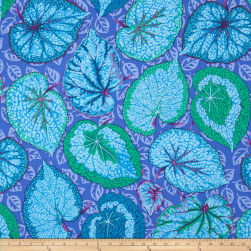 Kaffe Fassett Collective Big Leaf Blue