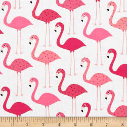 Urban Zoologie Flamingos Fabric