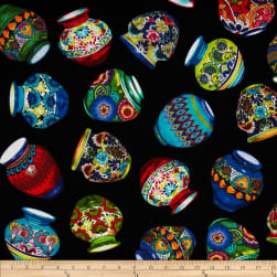 Kanvas Fiesta Pottery Multi
