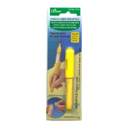 Clover Chaco Liner Pen Yellow