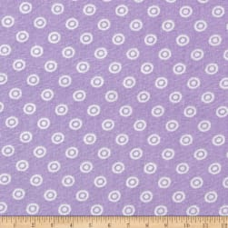 Dots and More Dots Lavender Fabric