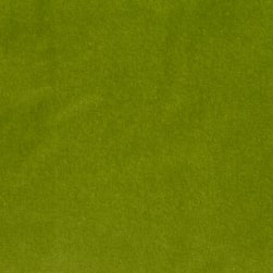 Acetex Cotton Velvet Green Fabric