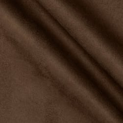 Acetex Carolin Suede Chocolate Fabric