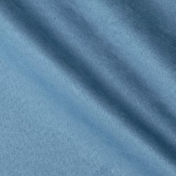Acetex Carolin Suede Bay Blue Fabric