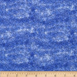 Under the Sea Starfish Tonal Dark Blue