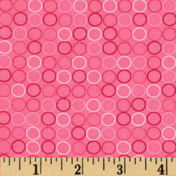 Spot On Circle In A Line Pink