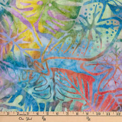 Artisan Batiks Totally Tropical Fern Leaves Tropical Fabric