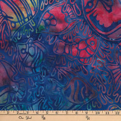 Artisan Batiks Totally Tropical Fish Pacific Fabric