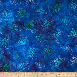 Artisan Batiks Totally Tropical Small Turtles Pacific