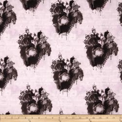 Disney Villains Spell Casting Grey Fabric