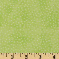 Comfy Flannel Micro Dot Lime Green Fabric