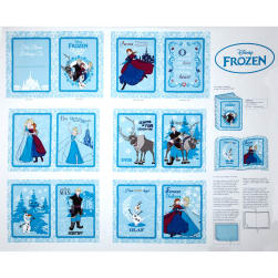 Disney Frozen Annas Friends Soft Book Panel White