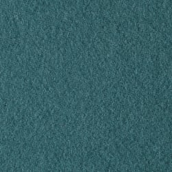 The Season Wool Collection Wool Melton Teal Fabric