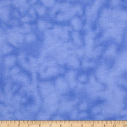 "108"" Wide Flannel Mottled Royal Blue"