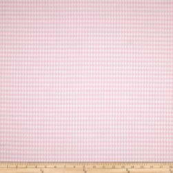 Premier Prints Houndstooth Twill Bella Pink Fabric