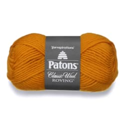 Patons Classic Wool Roving Yarn Yellow