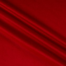 Alpine Upholstery Velvet Red Fabric