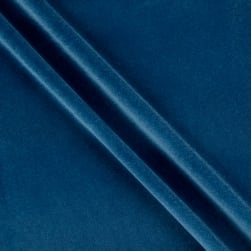 Alpine Upholstery Velvet Royal Blue Fabric