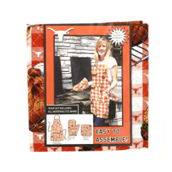 Collegiate BBQ Apron/Mit University of Texas