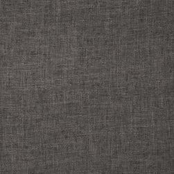 Zuma Slubbed Linen Blend Charcoal Fabric