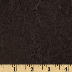 Distressed Calf Dark Brown Fabric
