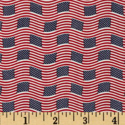 Made in the USA Small Flags Red, White,
