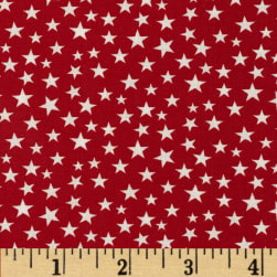Made in the USA Stars White/Red