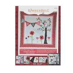Kimberbell Kids Let Me Call You Tweet Heart Wall Hanging Pattern