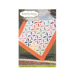 Butterfly Kisses 206 Quilt Of Many Colors Pattern