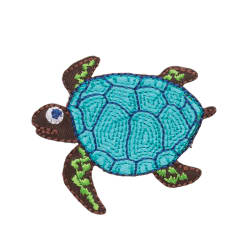 Simplicity Iron On Applique Sea Turtle