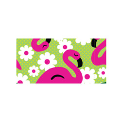 Patterned Duck Tape 1.88'' x 10yd-Flamingo
