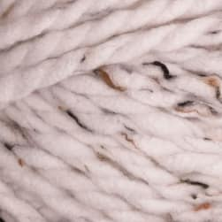 Premier Mega Tweed Super Bulky Yarn 01 White Tweed