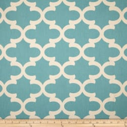 Premier Prints Fynn Village Blue/Natural Fabric